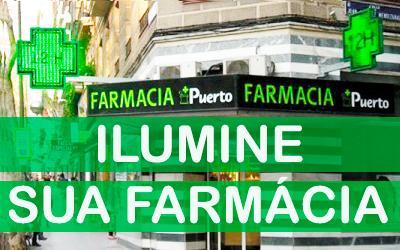 Como destacar a sua farmácia com iluminação exterior?