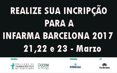 Desde há menos dias para Infarma Barcelona de 2017: Registo