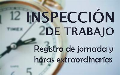 La Inspección de Trabajo controla las horas extra