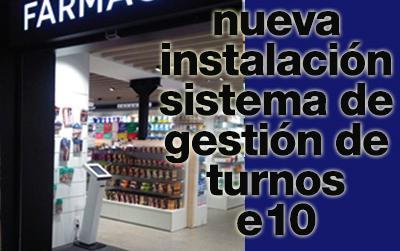 Nueva instalación de un Sistema de Gestión de Turnos e10 en Barcelona