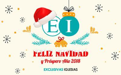 Les deseamos Felices Fiestas y Próspero Año Nuevo 2018