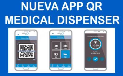 Nova APP Medical Dispenser QR, não mais um esquecimento
