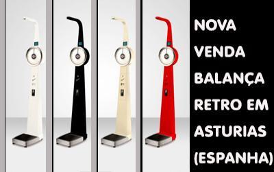 A Balança pesapessoas Retro ganha posições em vendas