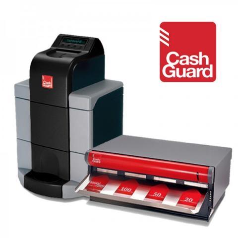 Cashguard sistema de gestion de efectivo y cobro