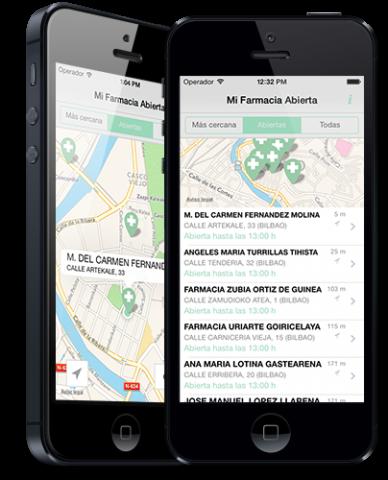 App para localizar la farmacia abierta más cercana - Exclusivas Iglesias
