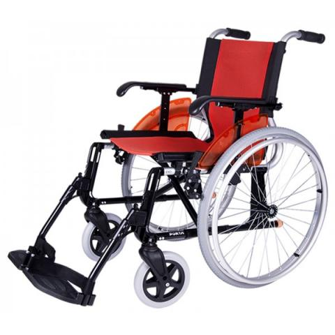 Cadeira de alumínio dobrável Line R-600 laranja - Exclusivas Iglesias