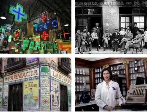 Evolución de las farmacias a través de 40 fotografías - Exclusivas Iglesias